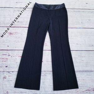 Moda International Pinstripe Dress Pants